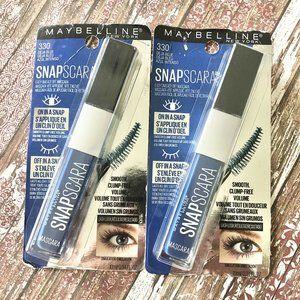 Maybelline Snapscara 330 Deja Blue Mascara 2pk NEW